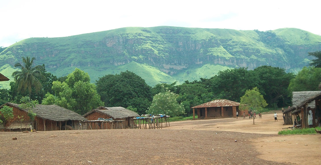 Lovo, one of the study villages in the rural health zone of Kimpese, Bas-Congo Province, DRC