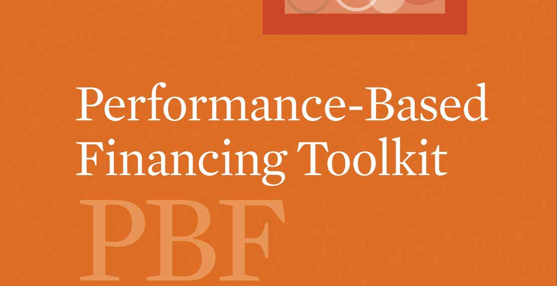 the logo of the Performance Based Financing (PBF) strategy
