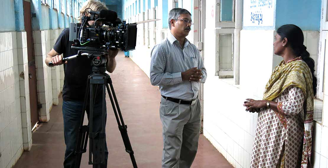 Interview in Bangalore clinic