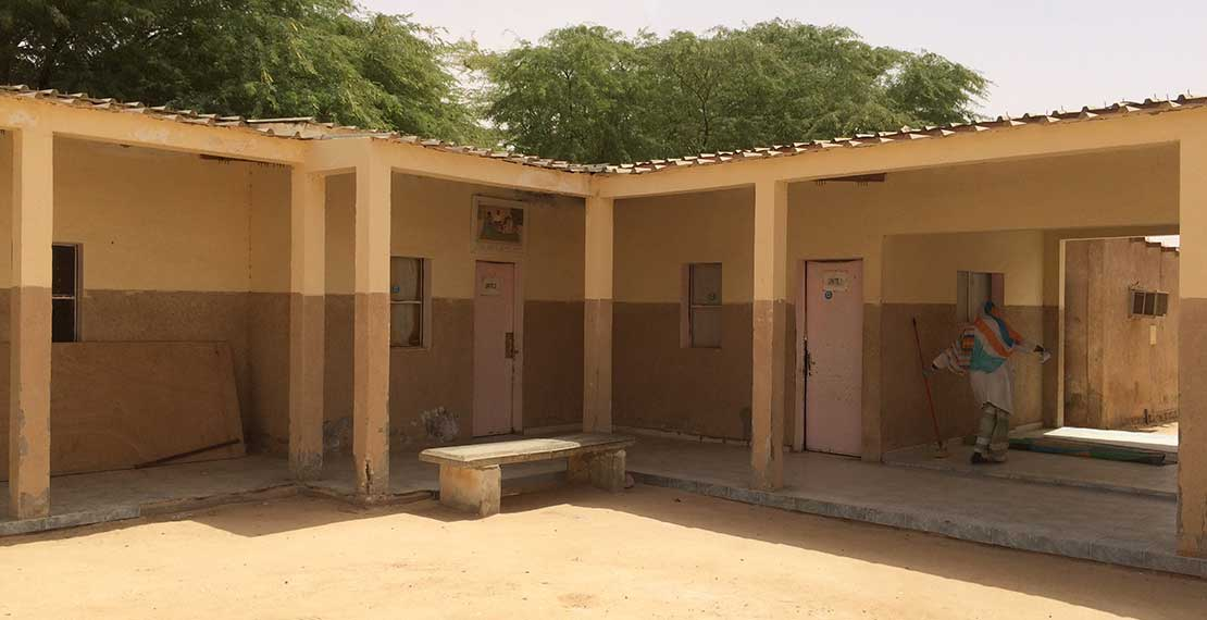 The health centre of the Mauritanian association APSDN (Association pour la Promotion de la Santé à Dar Naim)