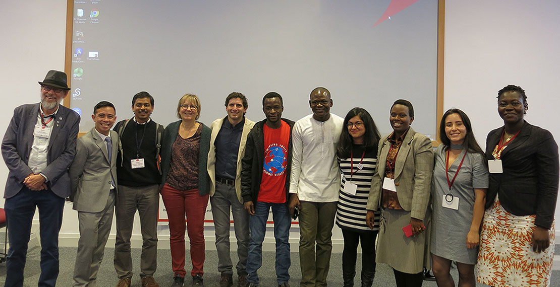ITM alumni and staff at Emerging Voices 4 Global Health training