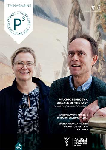 cover of the magazine with a picture of Bouke de Jong and Epco Hasker