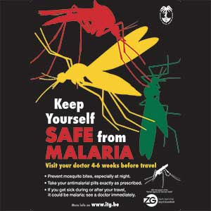 Malaria protection is important for every traveller